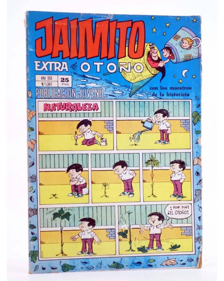 Cubierta de JAIMITO PUBLICACIÓN JUVENIL 1347. 27 Noviembre 1975 (Vvaa) Valenciana 1975. EXTRA DE OTOÑO