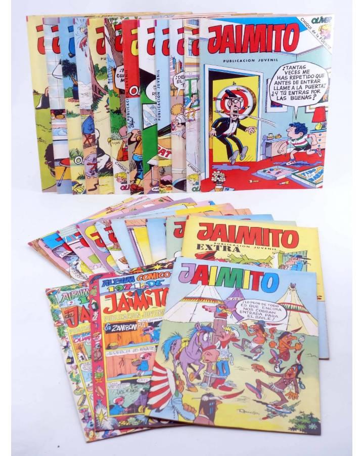 Cubierta de JAIMITO PUBLICACIÓN JUVENIL LOTE 2. LOTE DE 25 (Vvaa) Valenciana 1983