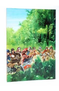 Contracubierta de GARRA DE FUEGO RETAPADO 1. NºS 1 A 4 (Vvaa) Dalmau Socias 1981