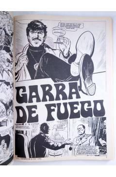 Muestra 3 de GARRA DE FUEGO RETAPADO 1. NºS 1 A 4 (Vvaa) Dalmau Socias 1981