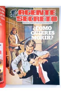 Muestra 2 de RETAPADO AGENTE SECRETO 11 Y 12 / TOP SECRET 2 Y 3 (Vvaa) Epesa 1982