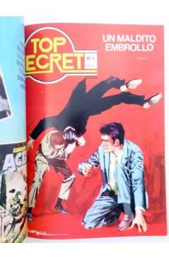 Muestra 4 de RETAPADO AGENTE SECRETO 11 Y 12 / TOP SECRET 2 Y 3 (Vvaa) Epesa 1982