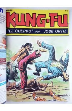 Muestra 3 de KUNG FU RETAPADO 1. Nºs 1 A 6. ARTES MARCIALES EN HISTORIETAS (José Ortiz) Iru 1987