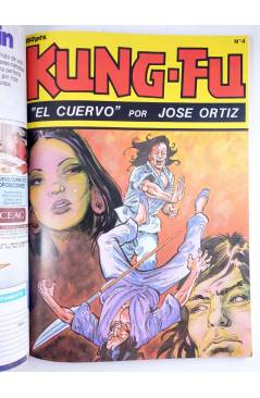 Muestra 4 de KUNG FU RETAPADO 1. Nºs 1 A 6. ARTES MARCIALES EN HISTORIETAS (José Ortiz) Iru 1987
