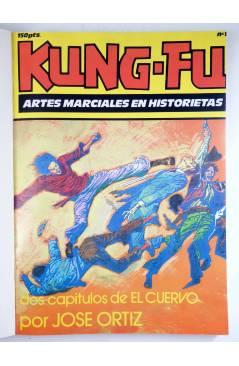Muestra 1 de KUNG-FU RETAPADO 1 a 6 + nº 7. COMPLETA. ARTES MARCIALES EN HISTORIETAS (José Ortiz) Iru 1987