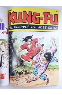 Muestra 5 de KUNG-FU RETAPADO 1 a 6 + nº 7. COMPLETA. ARTES MARCIALES EN HISTORIETAS (José Ortiz) Iru 1987