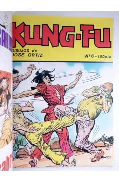 Muestra 6 de KUNG-FU RETAPADO 1 a 6 + nº 7. COMPLETA. ARTES MARCIALES EN HISTORIETAS (José Ortiz) Iru 1987