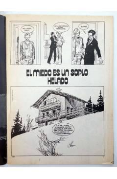 Muestra 1 de KUNG FU. LAS AVENTURAS DE LOS INVENCIBLES 43. UNION PACIFIC (Ortiz / López) Amaika 1979