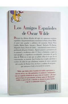 Contracubierta de LOS AMIGOS ESPAÑOLES DE OSCAR WILDE (José Esteban) Reino de Cordelia 2012