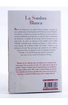 Contracubierta de LA SOMBRA BLANCA (Carlos Fidalgo) Reino de Cordelia 2015