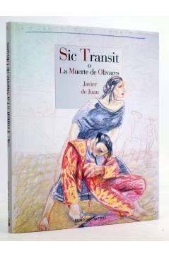 Cubierta de SIC TRANSIT O LA MUERTE DE OLIVARES (Javier De Juan) Reino de Cordelia 2014