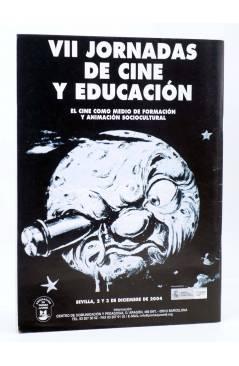 Contracubierta de REVISTA MAKING OF CUADERNOS DE CINE Y EDUCACIÓN 27 (Vvaa) CC&P 2004