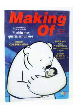 Cubierta de REVISTA MAKING OF CUADERNOS DE CINE Y EDUCACIÓN 28. Especial Cine Formativo (Vvaa) CC&P 2004