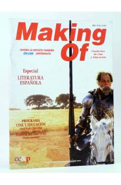 Cubierta de REVISTA MAKING OF CUADERNOS DE CINE Y EDUCACIÓN 33. Especial Literatura española (Vvaa) CC&P 2005