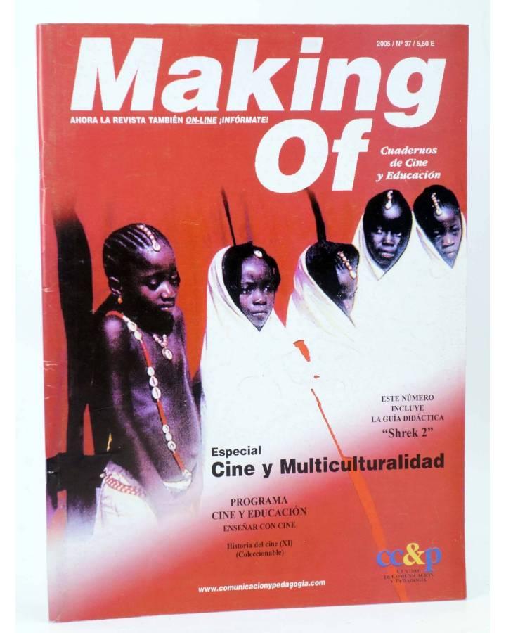 Cubierta de REVISTA MAKING OF CUADERNOS DE CINE Y EDUCACIÓN 37. Esp cine y multiculturalidad (Vvaa) CC&P 2005