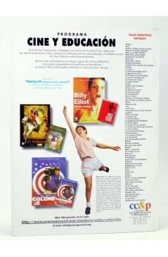 Contracubierta de REVISTA MAKING OF CUADERNOS DE CINE Y EDUCACIÓN 46. Especial Cine Documental (Vvaa) CC&P 2007