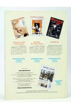 Contracubierta de REVISTA MAKING OF CUADERNOS DE CINE Y EDUCACIÓN 54 (Vvaa) CC&P 2007