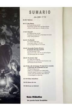 Muestra 1 de REVISTA MAKING OF CUADERNOS DE CINE Y EDUCACIÓN 54 (Vvaa) CC&P 2007
