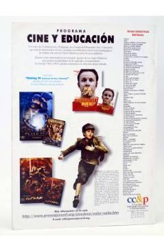 Contracubierta de REVISTA MAKING OF CUADERNOS DE CINE Y EDUCACIÓN 55 (Vvaa) CC&P 2007