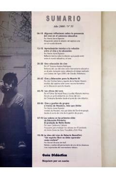 Muestra 1 de REVISTA MAKING OF CUADERNOS DE CINE Y EDUCACIÓN 55 (Vvaa) CC&P 2007