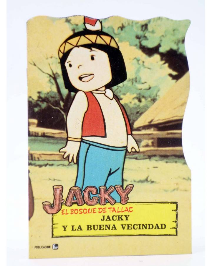 Troquelados Tv T V Jacky El Bosque De Tallac 4 Jacky Y La Buena Vecindad Fher 1979 Oferta Comic Mang Libros Fugitivos