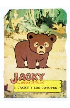 Muestra 1 de TROQUELADOS TV T.V. JACKY EL BOSQUE DE TALLAC 3 a 8. LOTE DE 6. Fher 1979