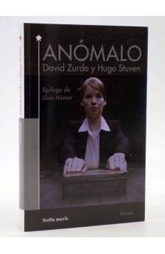 Cubierta de ANÓMALO (David Zurdo / Hugo Stuven) Stella Maris 2016