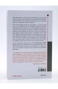 Contracubierta de ANÓMALO (David Zurdo / Hugo Stuven) Stella Maris 2016