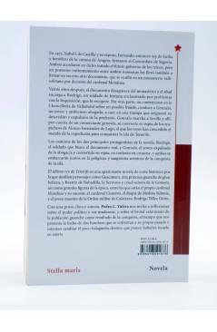 Contracubierta de EL ÚLTIMO REY DE TENERIFE (Pedro L. Yúfera) Stella Maris 2016