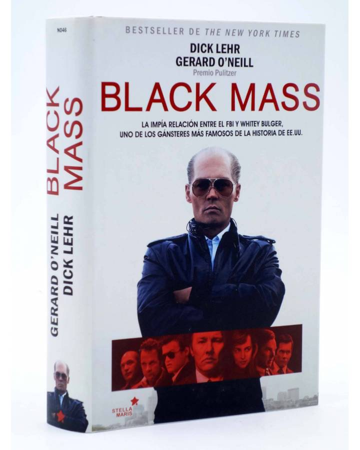 Cubierta de BLACK MASS (Dick Lehr / Gerard O'Neill) Stella Maris 2015