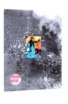 Contracubierta de DEN 3. HIJOS DEL FUEGO (Richard Corben) Toutain 1992