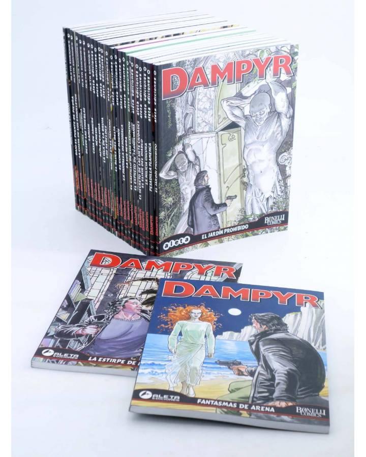 Cubierta de DAMPYR VOL. 1 2 A 26. COMPLETA A FALTA DE Nº1 (Mauro Boselli) Aleta 2005. BONELLI