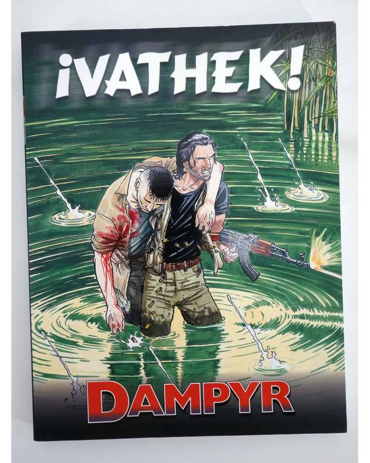 Cubierta de DAMPYR VOL. 2 5. ¡VATHEK! (Mauro Boselli) Aleta 2010. BONELLI