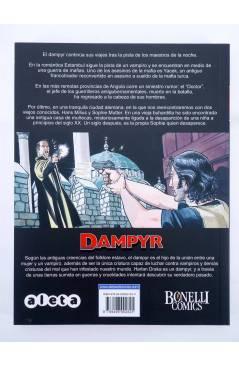 Contracubierta de DAMPYR VOL. 2 5. ¡VATHEK! (Mauro Boselli) Aleta 2010. BONELLI