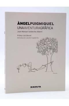 Cubierta de LA MEMORIA 2. ANGEL PUIGMIQUEL. UNA AVENTURA GRÁFICA (J.M. Soldevilla Albertí) Diminuta 2015