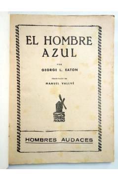 Muestra 1 de HOMBRES AUDACES 90. BILL BARNES 23. EL HOMBRE AZUL (George L. Eaton) Molino 1944