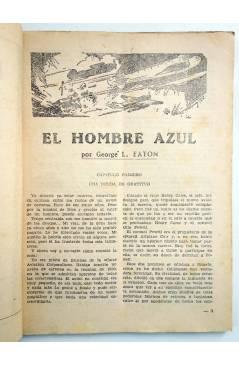 Muestra 2 de HOMBRES AUDACES 90. BILL BARNES 23. EL HOMBRE AZUL (George L. Eaton) Molino 1944