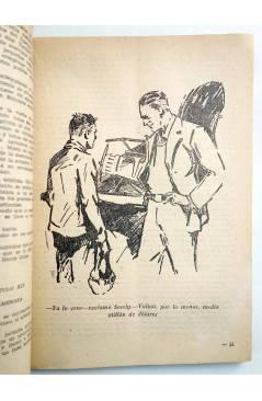 Muestra 4 de HOMBRES AUDACES 90. BILL BARNES 23. EL HOMBRE AZUL (George L. Eaton) Molino 1944