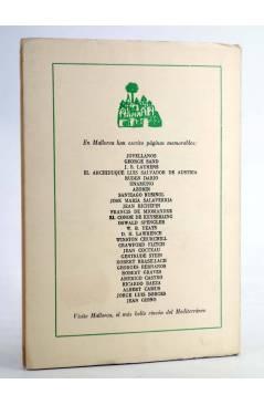 Contracubierta de Revista PAPELES DE SON ARMADANS Tomo 83. Núm. 247. Octubre de 1976 (Dirigida Por Camilo José Cela) Pal