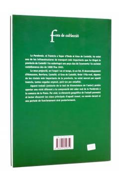 Contracubierta de LA PANDEROLA 1888-1963 (Raül Pons Just) Brosquil 2002