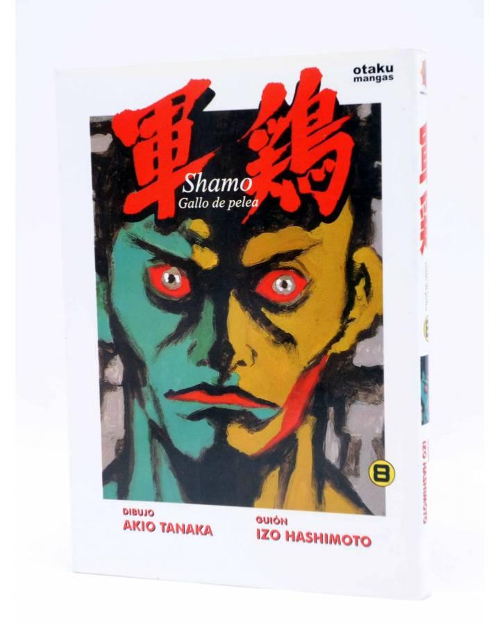 Cubierta de SHAMO GALLO DE PELEA 8 (Akio Tanaka / Izo Hashimoto) Otakuland 2004