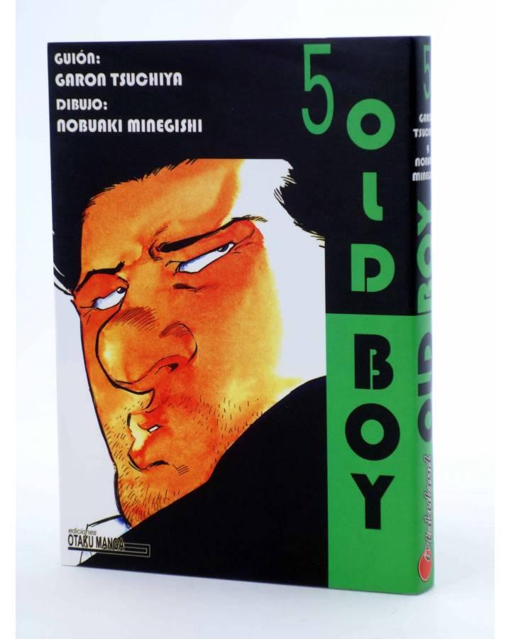 Cubierta de OLD BOY 5 (Garon Tsuchiya / Nobuki Minegishi) Otakuland 2004
