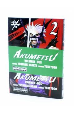 Cubierta de AKUMETSU 2 (Yoshiaki Tabata / Yuki Yogo) Mangaline 2006