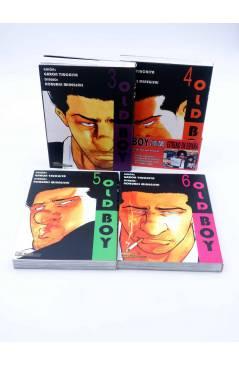 Contracubierta de OLD BOY 3 A 8 (Garon Tsuchiya / Nobuki Minegishi) Otakuland 2004
