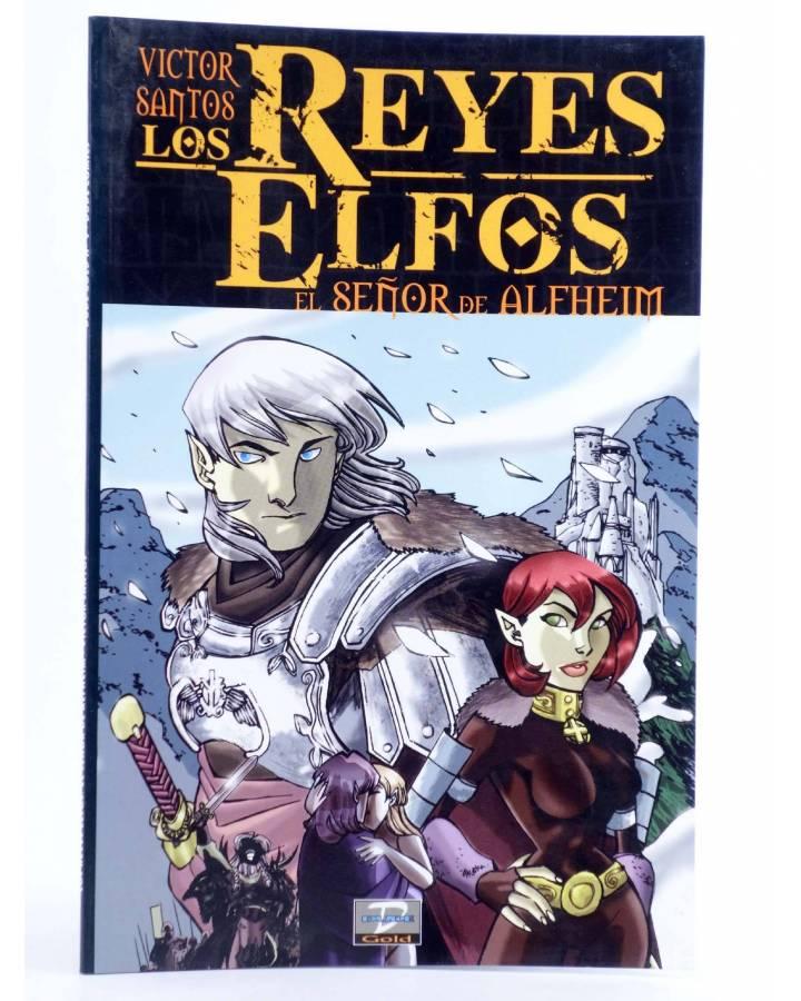 Cubierta de DUDE GOLD 9. LOS REYES ELFOS: EL SEÑOR DE ALFHEIM (Victor Santos) Dude 2002