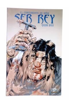 Cubierta de DUDE GOLD 14. EL CONTINENTE DE MON: SER REY (Quim Bou) Dude 2000