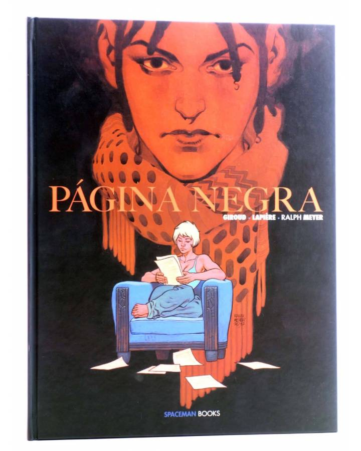 Cubierta de PÁGINA NEGRA (Giroud / Lapière / Ralph Meyer) Spaceman Books 2014