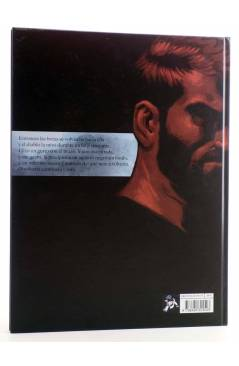 Contracubierta de PÁGINA NEGRA (Giroud / Lapière / Ralph Meyer) Spaceman Books 2014