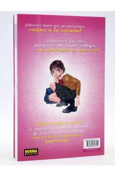 Contracubierta de COMO DIBUJAR ANIME 3. ACCIONES COTIDIANAS (Tadashi Ozawa) Norma 2003