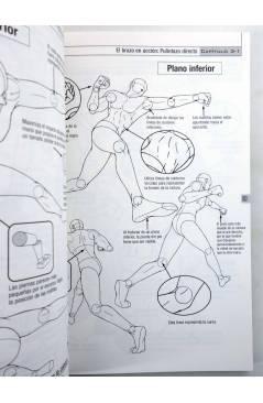 Muestra 2 de COMO DIBUJAR ANIME 4. ESCENAS DE COMBATE Y ACCIÓN (Tadashi Ozawa) Norma 2004
